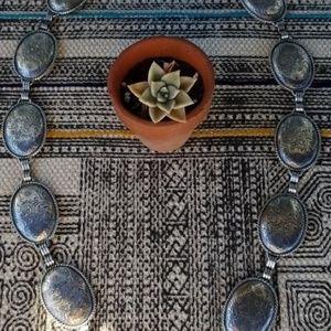 Concho chain belt- festival- bohemian style
